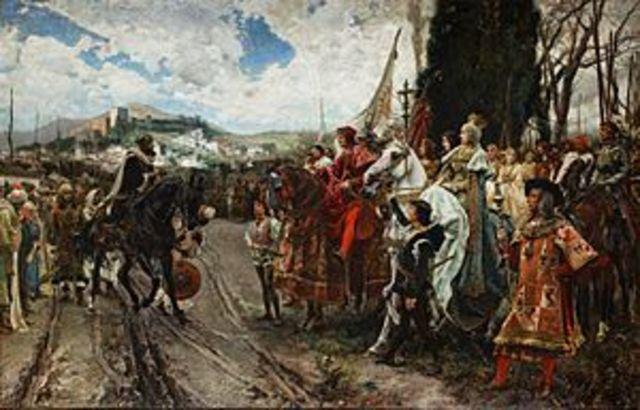 Ferdinand and Isabella annex Granada