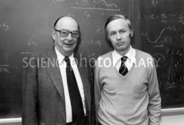John Bardeen y Walter Brattain