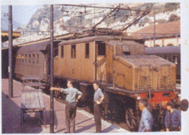 The First Electric Trains