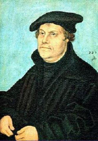 Martin Lutero quiso reformar la iglesia