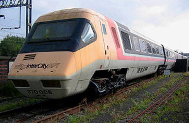 British Rail's Advanced Passenger Train Achieves 245 km/h