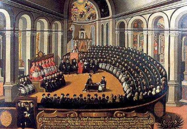 acaba el Concilio de Trento
