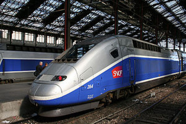 High speed TGV Trains Introduced In France