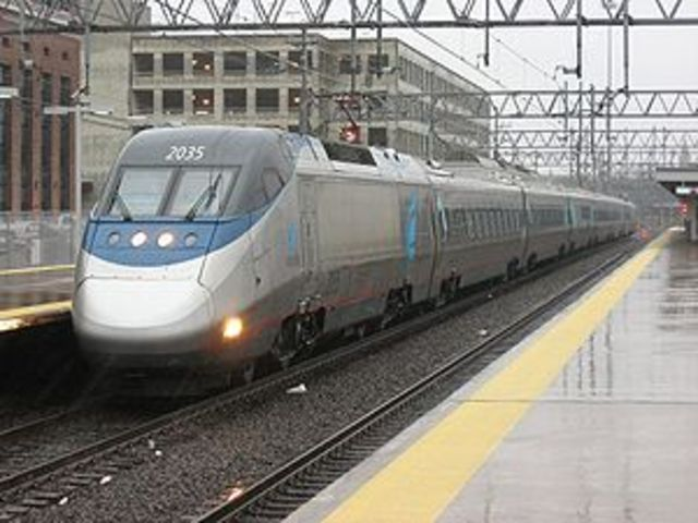 Amtrak Introduces The Acela Express