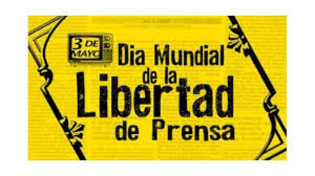 Dia de la libertad de prensa