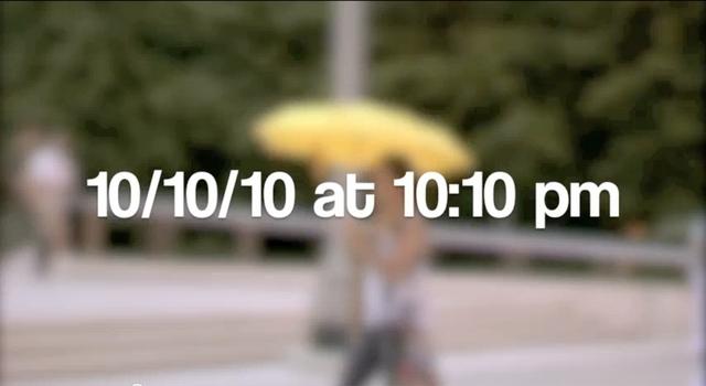 10/10/10 at 10:10 pm