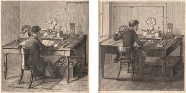 Primera transmisión telegráfica entre Washington y Baltimore