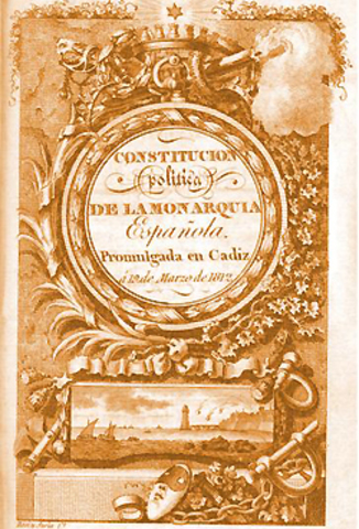 First Spanish Constitution
