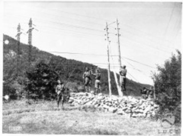 1ra línea de larga distancia para transmisión telegráfica