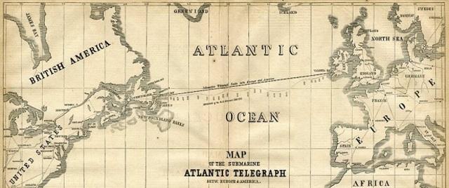 1er Cable Submarino Transatlántico