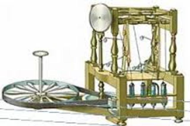 Máquina de hilar algodón