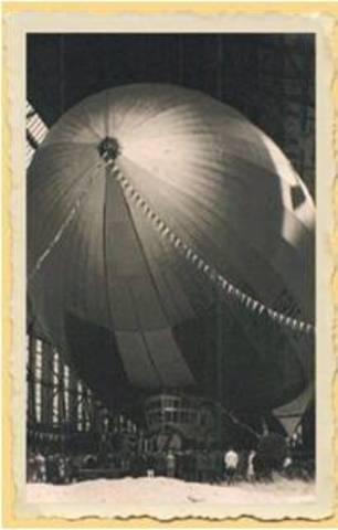 El zeppelín, el primer dirigible