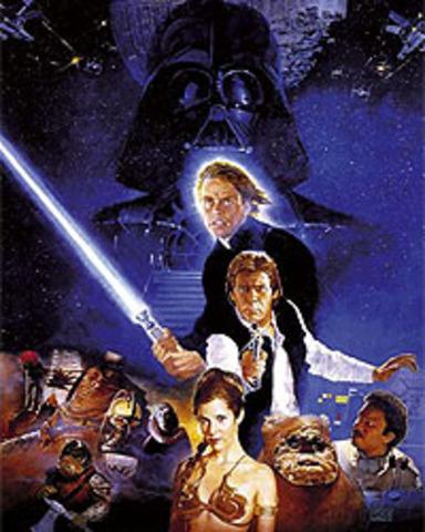 Episode VI: The Return of the Jedi released in theatres