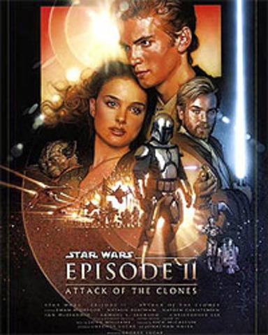Episode II: Attack of the Clones released in theatres