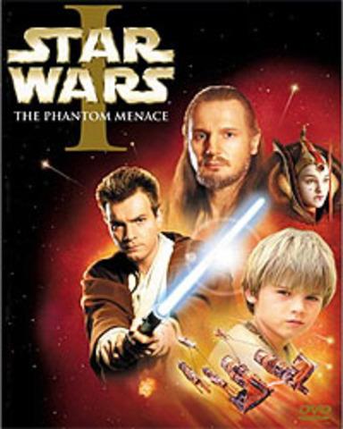 DVD release of The Phantom Menace