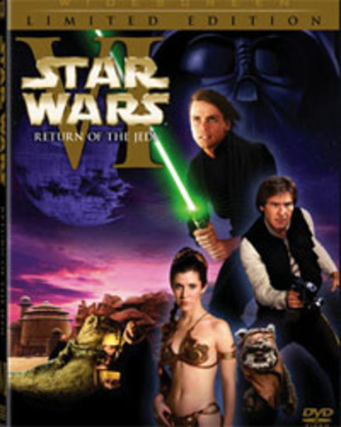 A new set of DVDs of the original trilogy is released, showing both the altered and original films