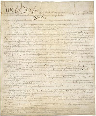 US Constitution is created