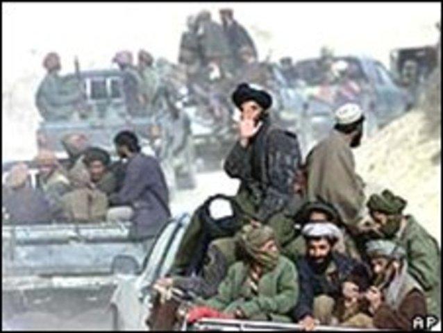 Taliban invaded