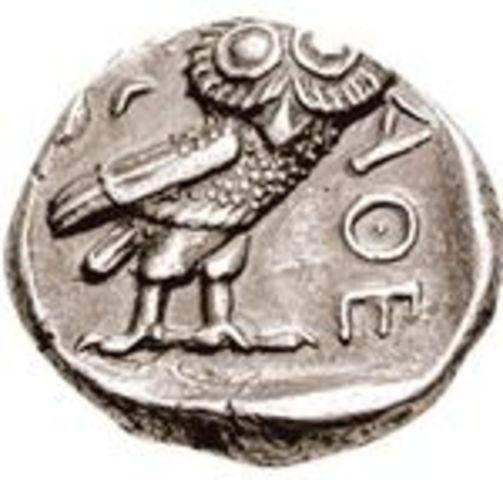 Aparición de la moneda