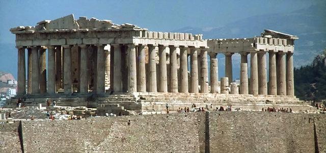 Construcción del Partenón