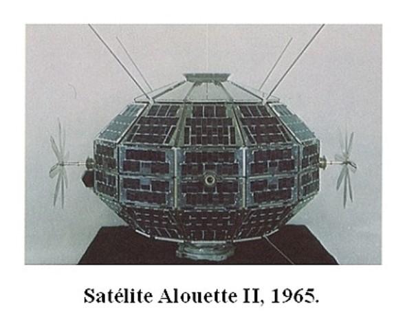 Primer satelite en orbita geoestacenaria