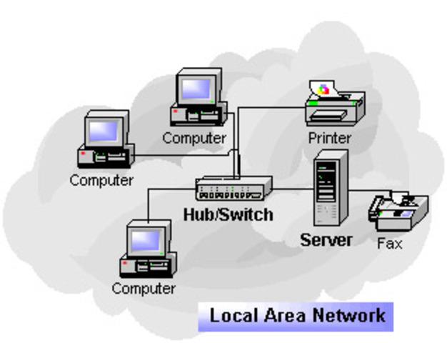 IBM terminales conectados a un ordenador central