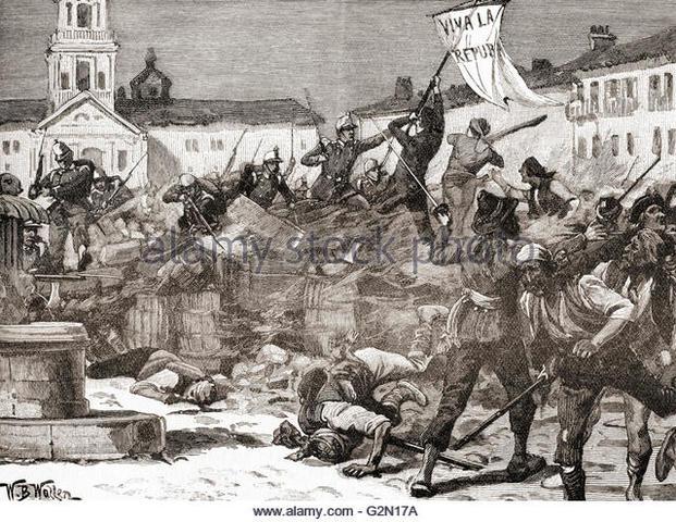 (2) Spanish Glorious Revolution