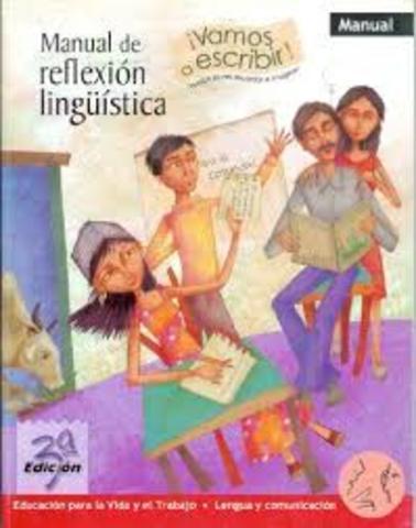 REFLEXIÓN LINGUISTICA: MODISTAE