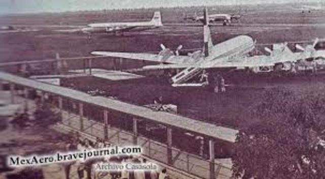 Inauguración del Aeropuerto