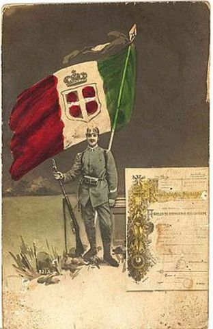 הצטרפות איטליה למלחמת העולם הראשונה
