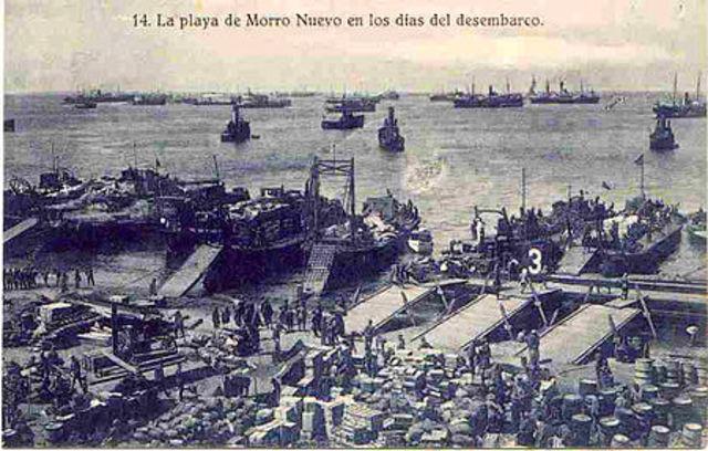 Desembarco en la bahía de Alhucemas