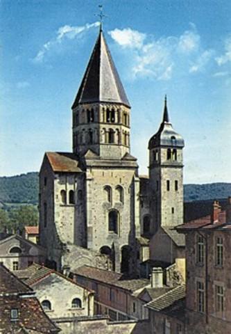 Fundación abadía de Cluny