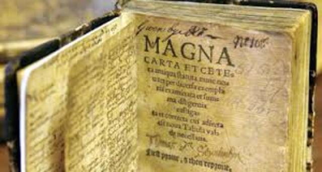 La Carta Magna de Inglaterra