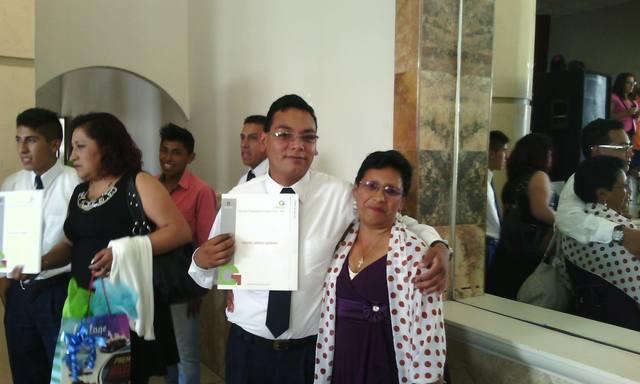 Graduación de la EPO 102