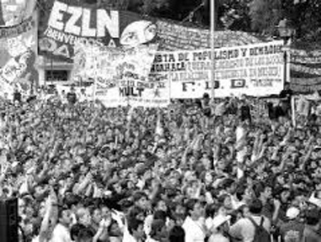 MOVIMIENTO ZAPATISTA 1994