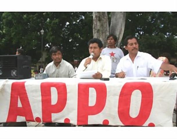 LA APPO EN OAXACA 2006