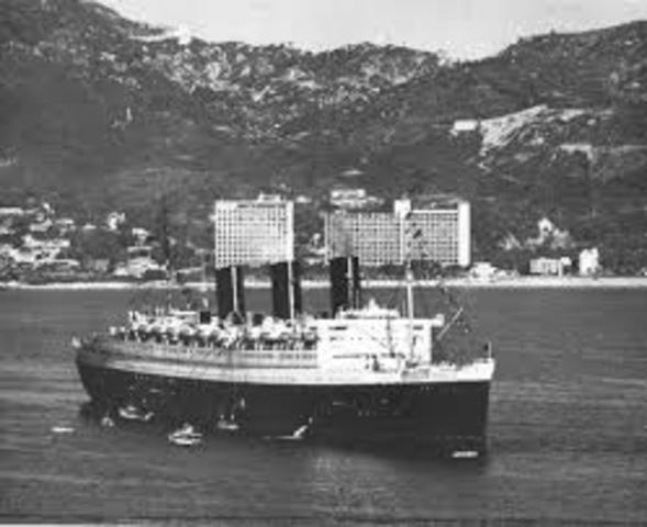 Los cruceros empiezan a llegar a Acapulco.
