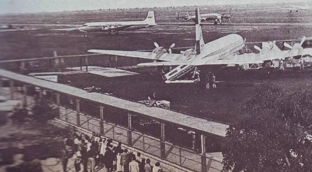 Inauguración del aeropuerto de la Ciudad de México
