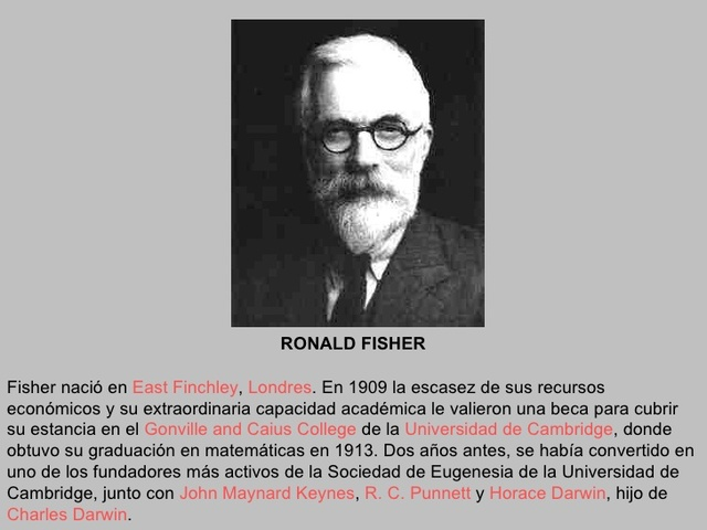 Ronald A. Fisher