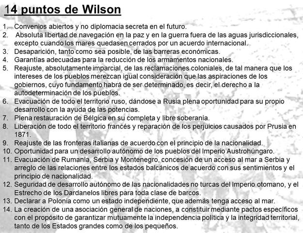 !4 puntos de Wilson