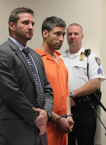 Arrest of Michael Harvey