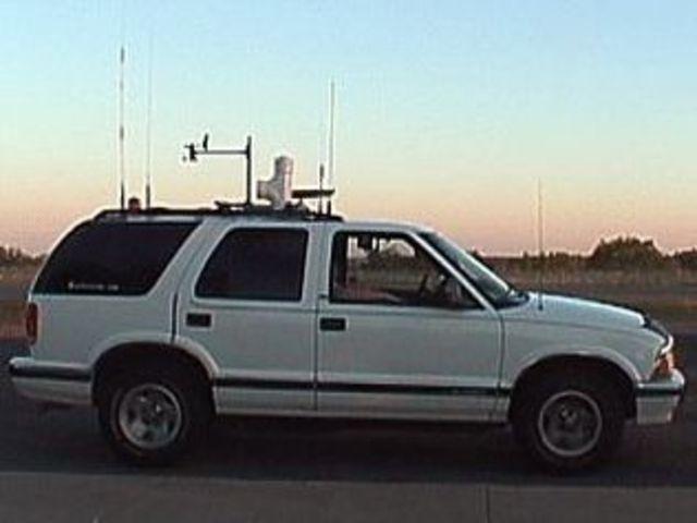 Chevy Blazer Recovered