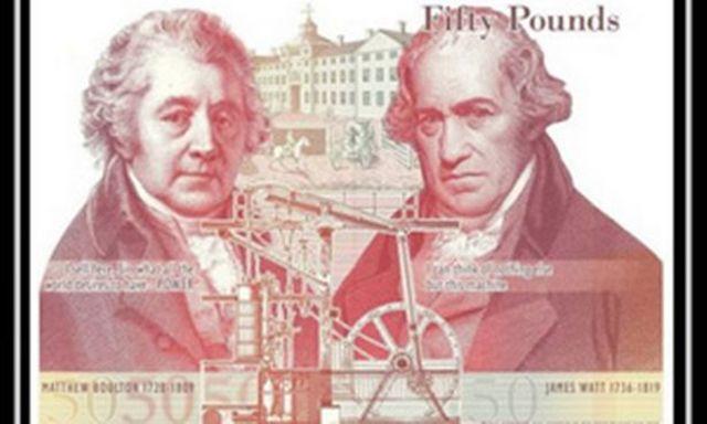 James Watt y Matthew Boulton