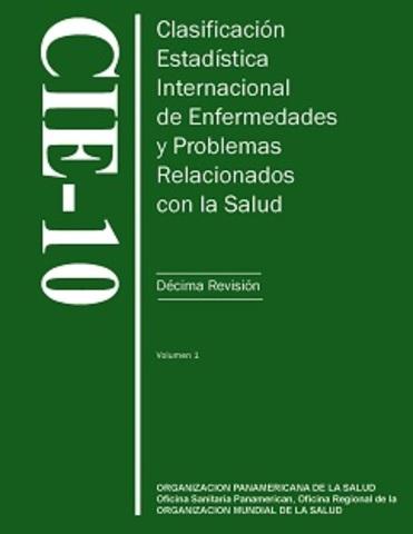 """1948 """" Clasificación internacional de enfermedades"""""""