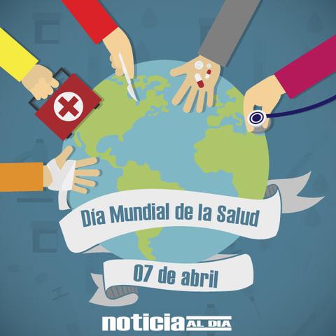 """1948 """" 7 de abril, Día mundial de la salud"""""""