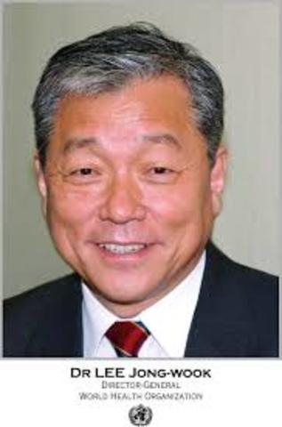 2003 sexto director general de la salud