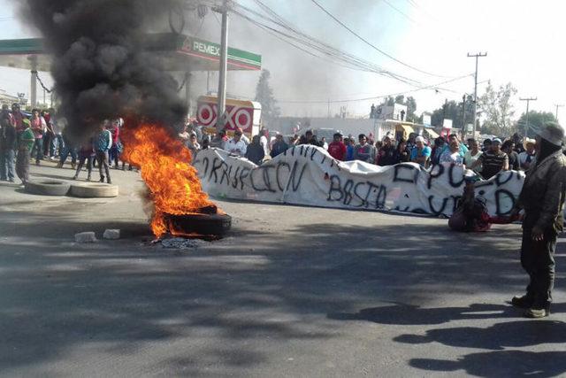 Protestas y saqueos, contra gasolinazo
