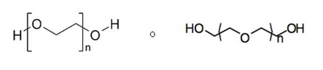 Primer uso de polietilenglicol com agente de disfunción