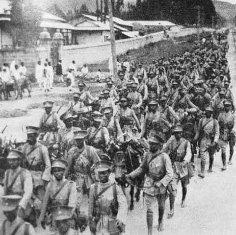 Conquista italiana de Somalia y Eritea