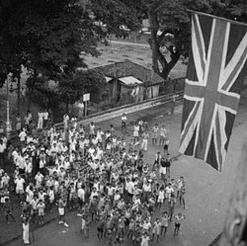 Ocupación británica de Malaysia y Singapur